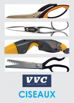 Gamme de Ciseaux et d'outils de découpe distribuées par la sociétés VVC