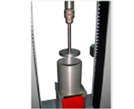 Dynamomètre test d'extrusion sur produits alimentaires