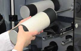 Porte échantillons amovibles pour en faciliter la manipulation et l'évaluation