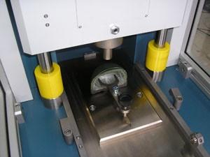 Accessoire de maintient échantillon pour test du métatarse selon ISO 20344:5.16