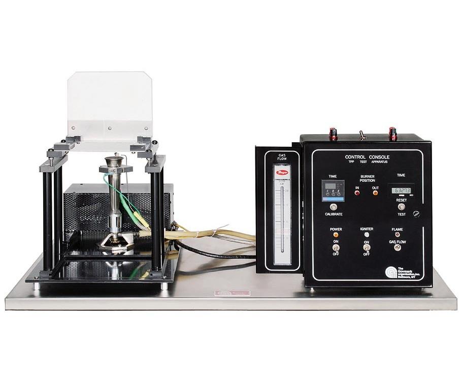 Deatak testeur de flammabilité des vêtement de protection selon la norme ISO-9151