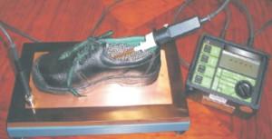 Mesure de la conductivité des chaussures de sécurité