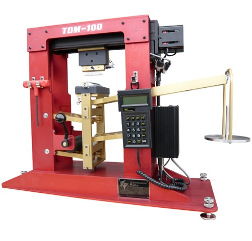 Test de résistance à la coupure des gants de protection selon la EN-388 6.3 - Tomodynamomètre 100