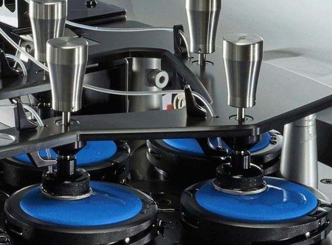 James HEAL Aquabrasion Abrasimetre Martindale test humide VVC