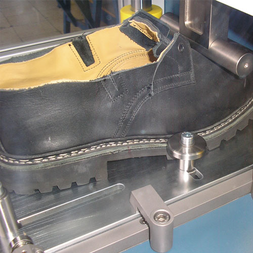 Zipor résistance aux chocs des embouts de chaussures de sécurité selon la norme ISO 20344