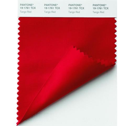 Pantone Swatch cards 19-1761 TCX Tango-Red