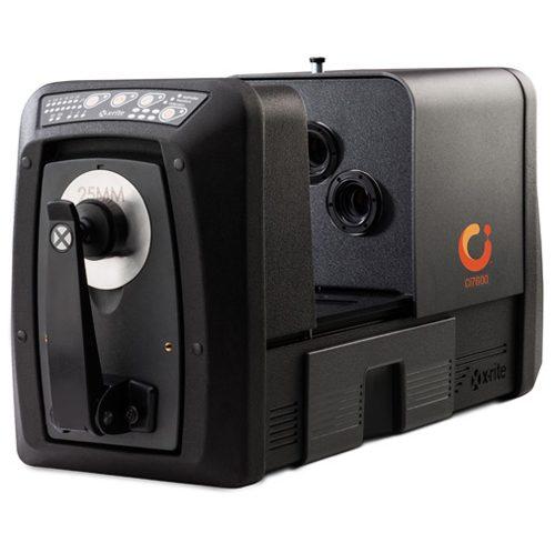 X-Rite Spectro Ci7800 Ci7600UV mesure des couleurs et des UV