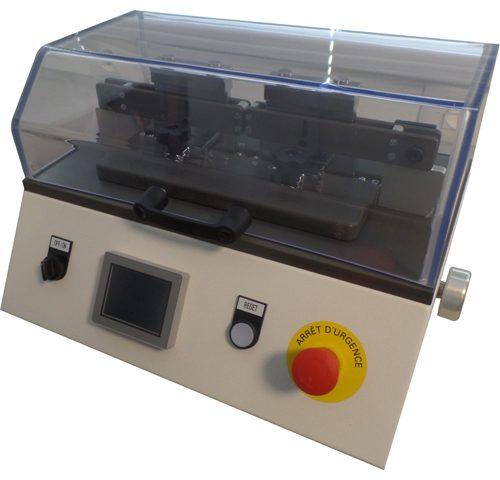 VVC Machine de froissement type Scrubb ISO 5981