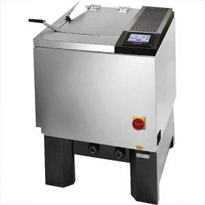 Gyrowash série 1615 de James HEAL pour lavage et nettoyage a sec selon la norme ISO-105 C06 et ISO 105 D01